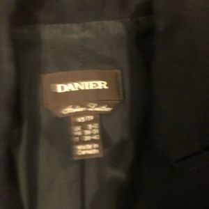 Danier Jackets & Coats - Danier Leather and Lycra Blazer